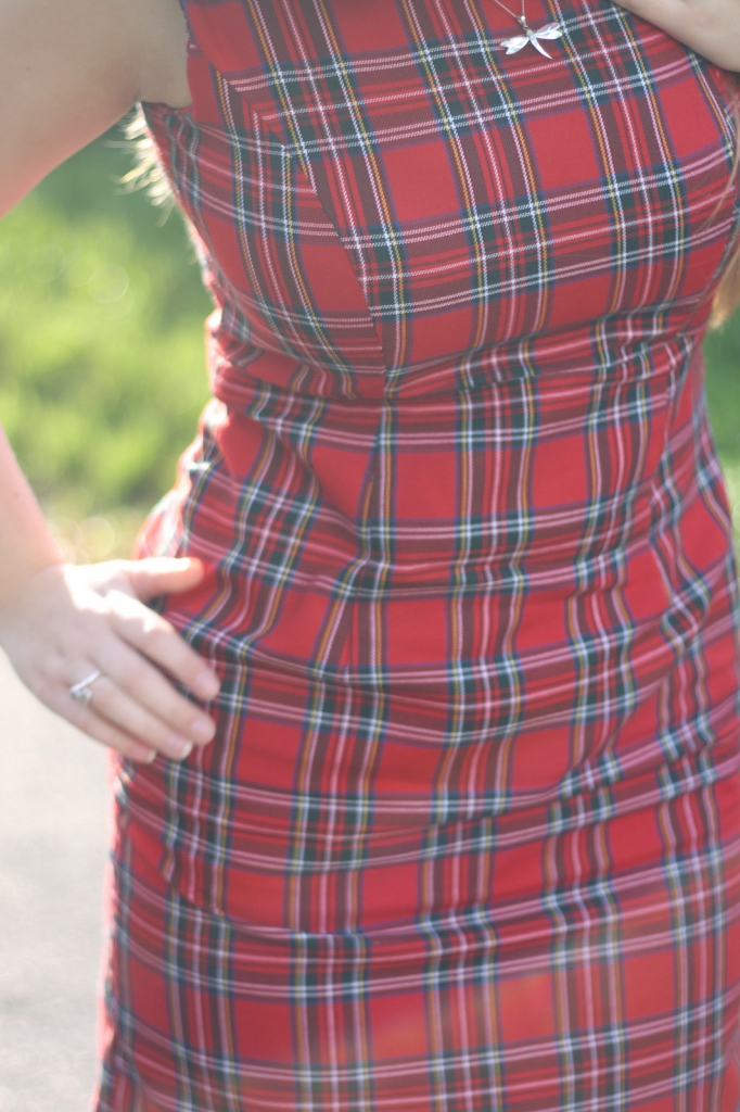 Tartan Shift Dress Great British Sewing Bee Sew Your Own