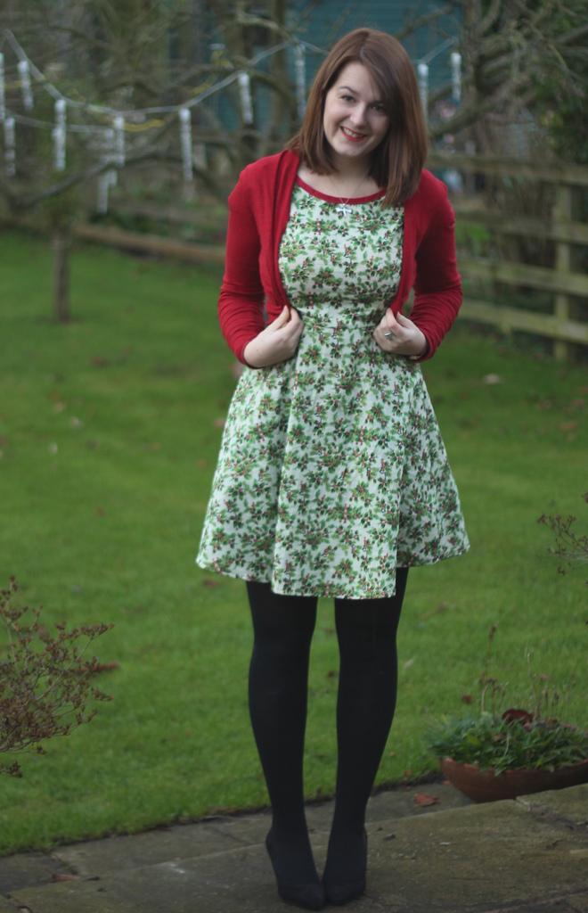 633ce002ae7ad Christmas Day Holly Dress