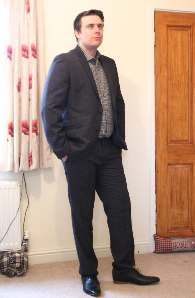 matalan men's suit review