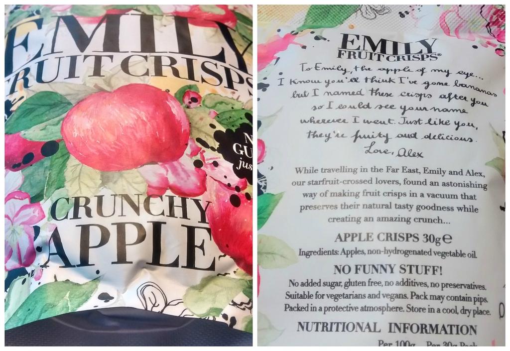 Emily fruit crips crunchy apple