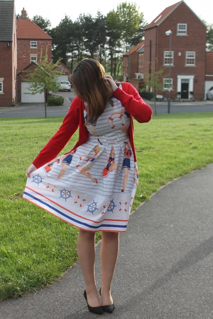 #ThatsSewGeorge dress Simplicity 2444