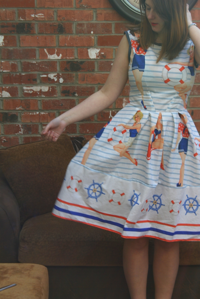 pin up sailor dress