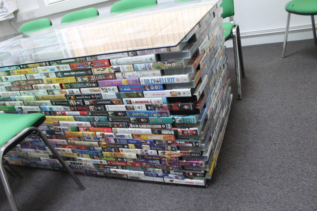 oxfam video table