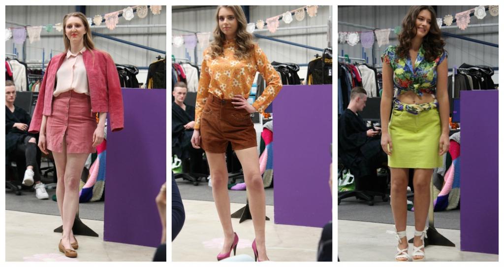 oxclusive fashion show 70s