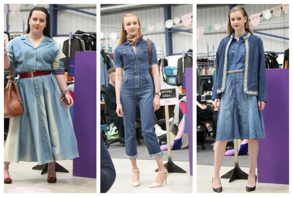 oxclusive fashion show denim