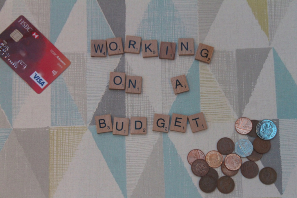 working on a budget