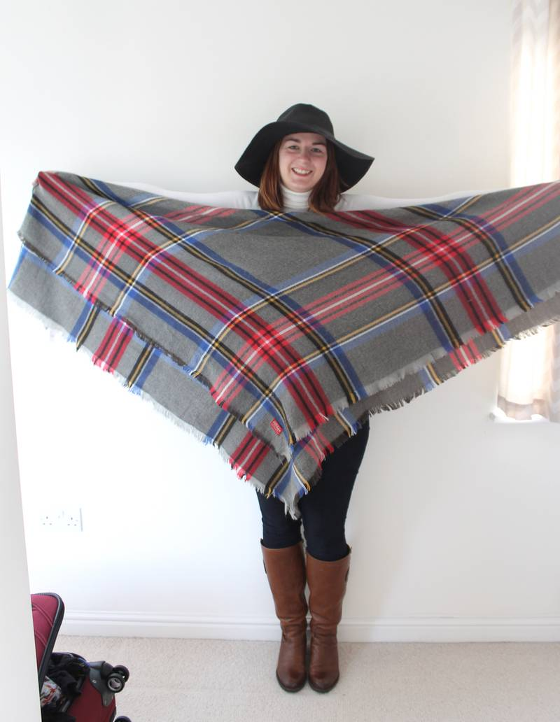8 Ways To Wear A Blanket Scarf Rebel Angel
