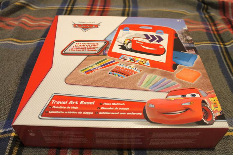 Disney Cars Travel Art Easel