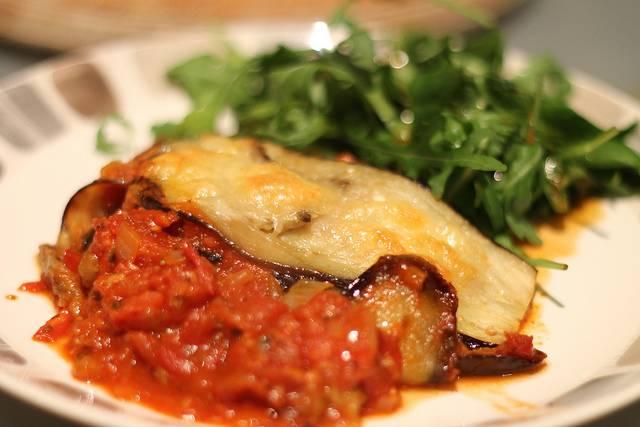 aubergine parmigiana recipe