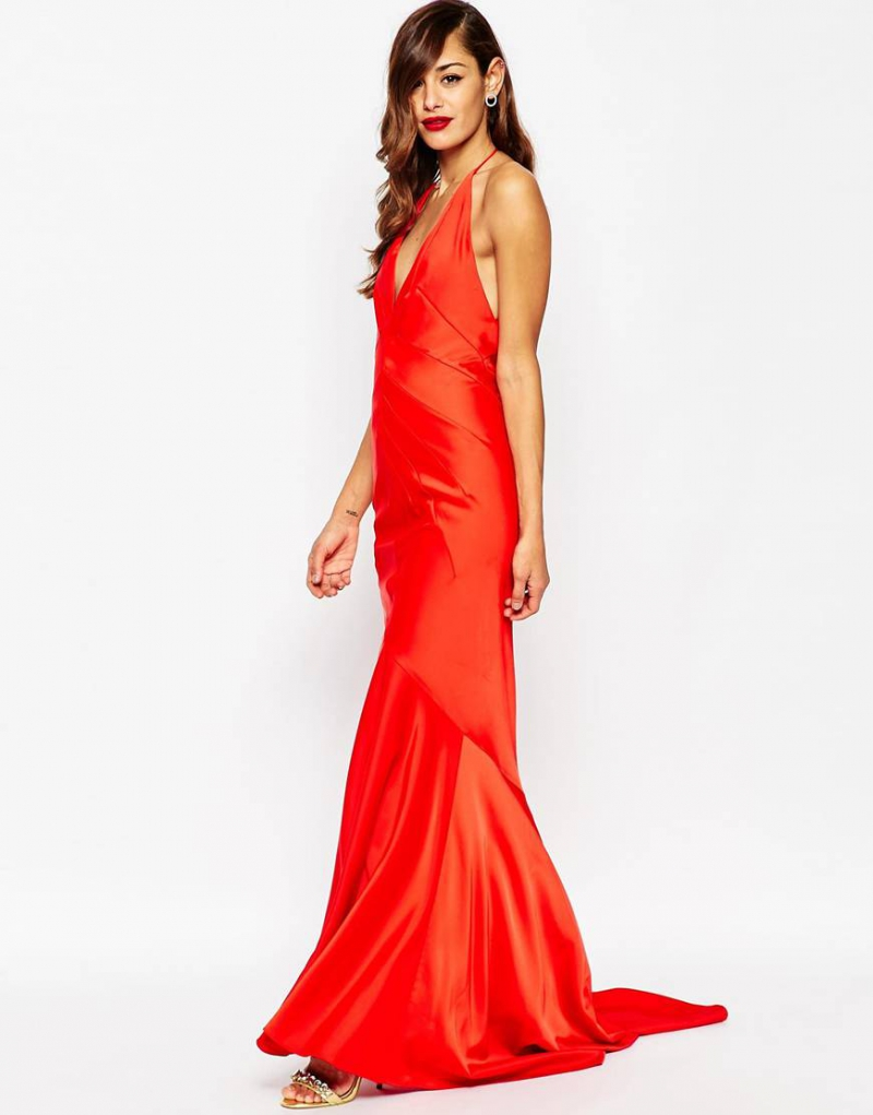 Red Maxi Dress ASOS