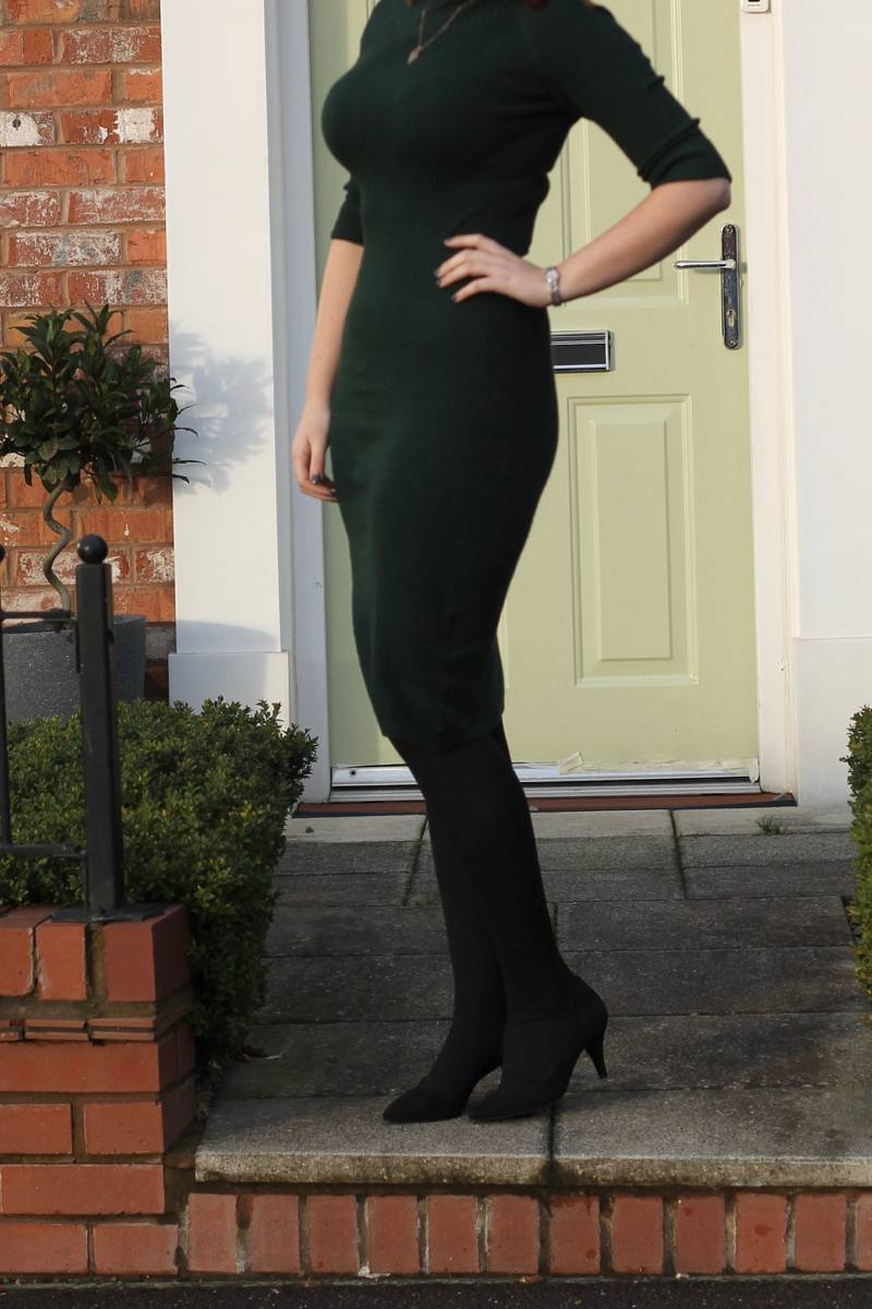 Collectif Olive Knitted Dress