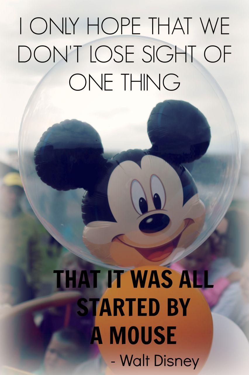 all started by a mouse