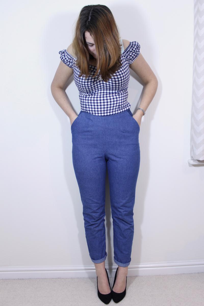 gertie sews vintage casual jeans