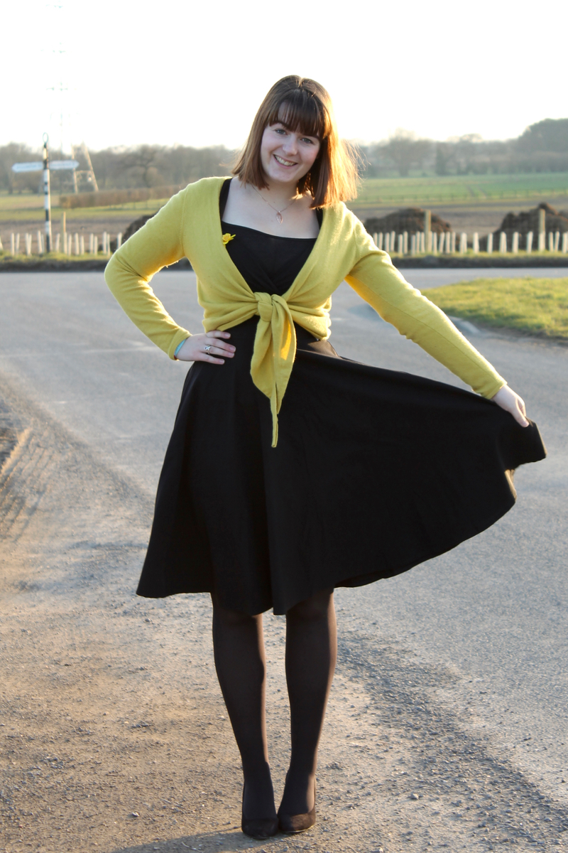 Collectif Trixie Doll Dress outfit