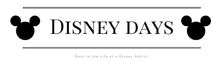 Disney Days blog
