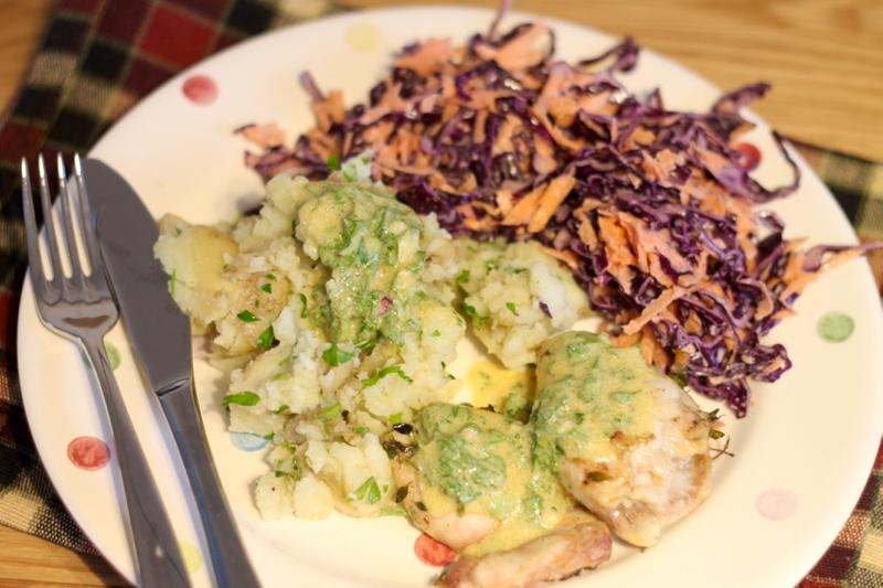HelloFresh review: Herb & Mustard Chicken