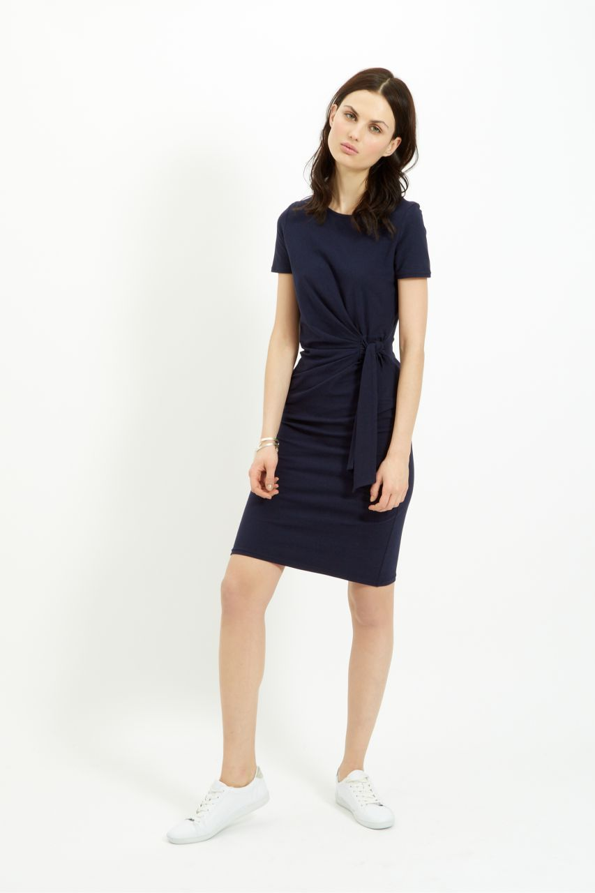 Navy Elsa Dress - People Tree