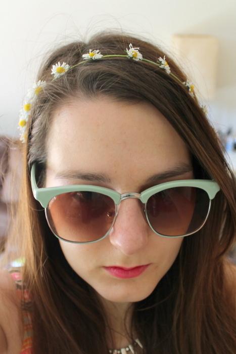 sunglasses daisy