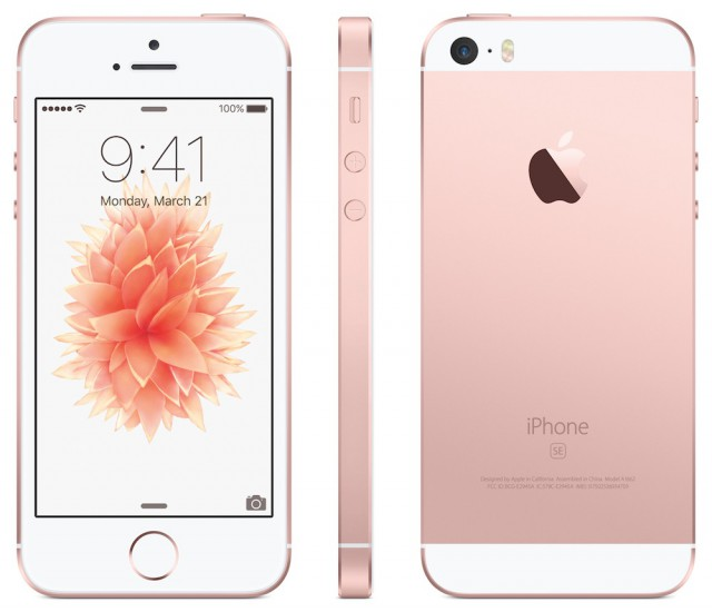 Apple iPhone Rose Gold
