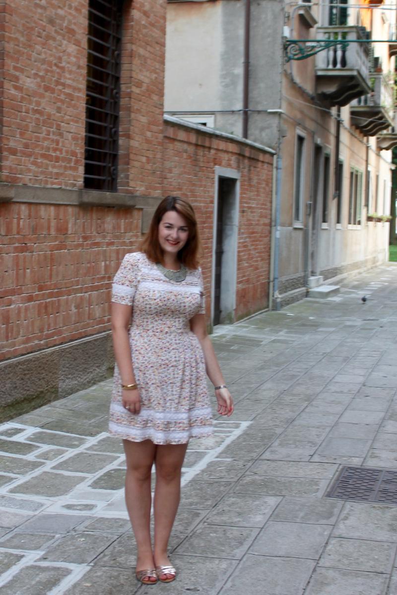 Matalan dress in Venice