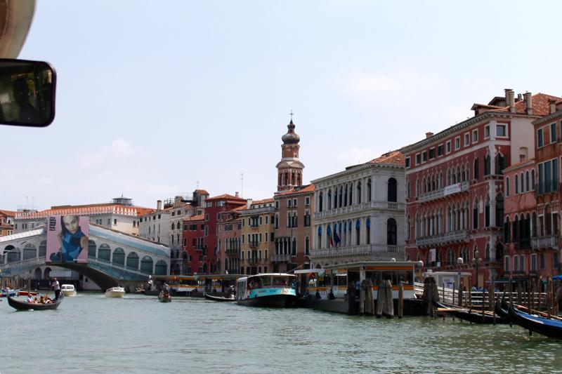Venice Grand Canal & Rialto bridge