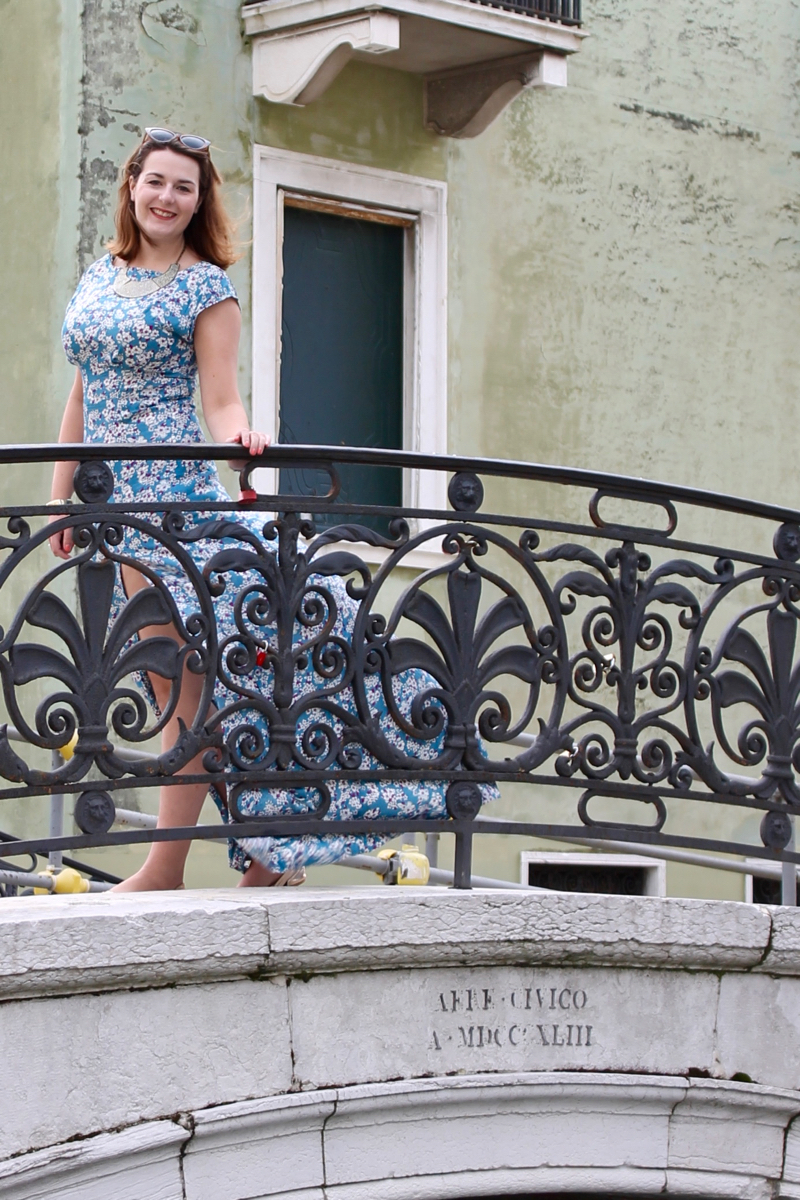 By Hand London Anna maxi dress in Venice