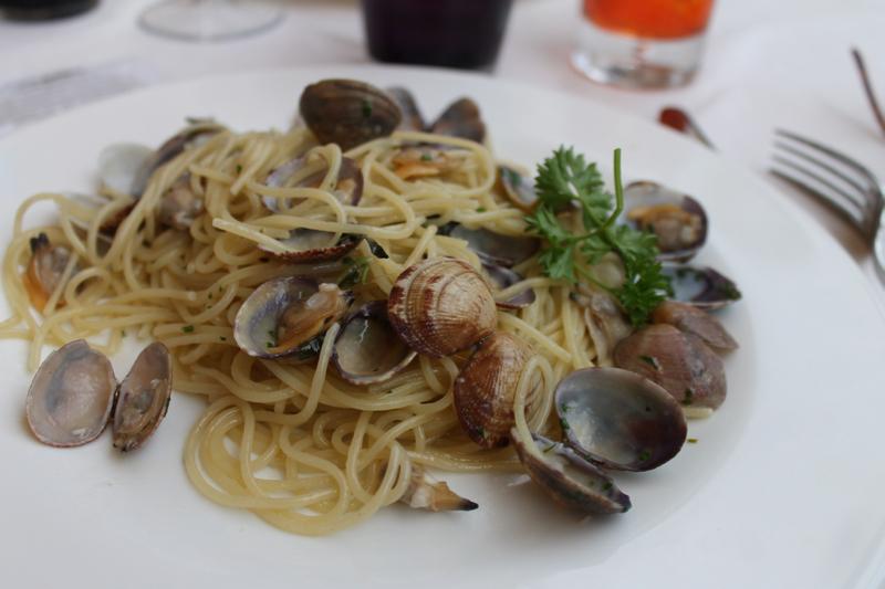 Spaghetti vongole Venice