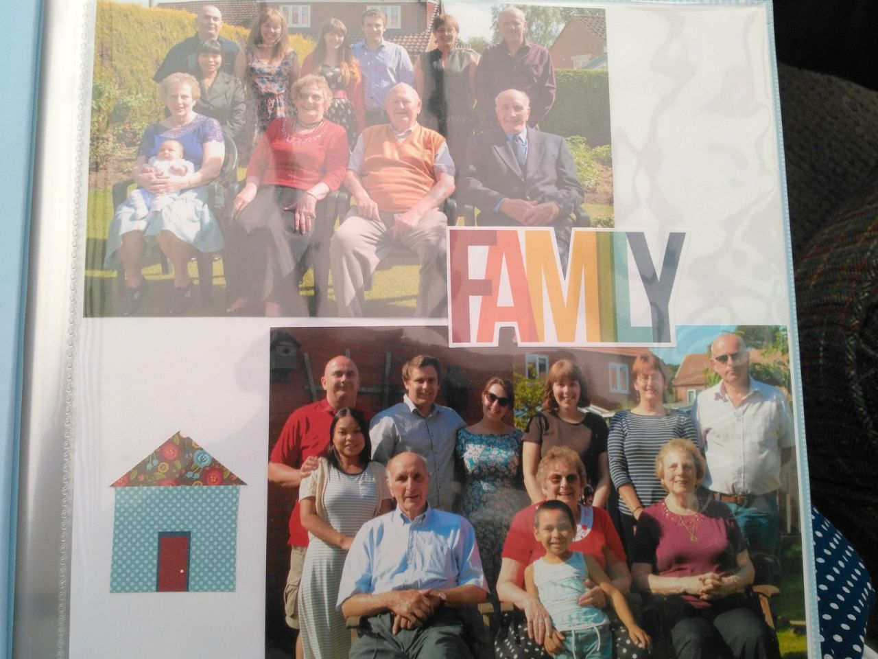 80th birthday present scrapbook