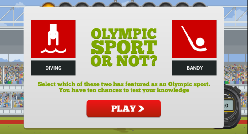 olympic sport or not quiz