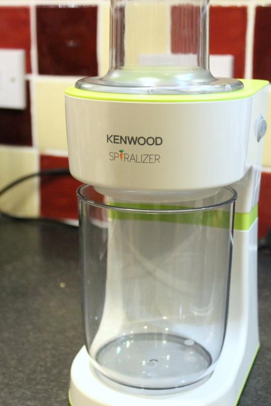 Kenwood Spiralizer review