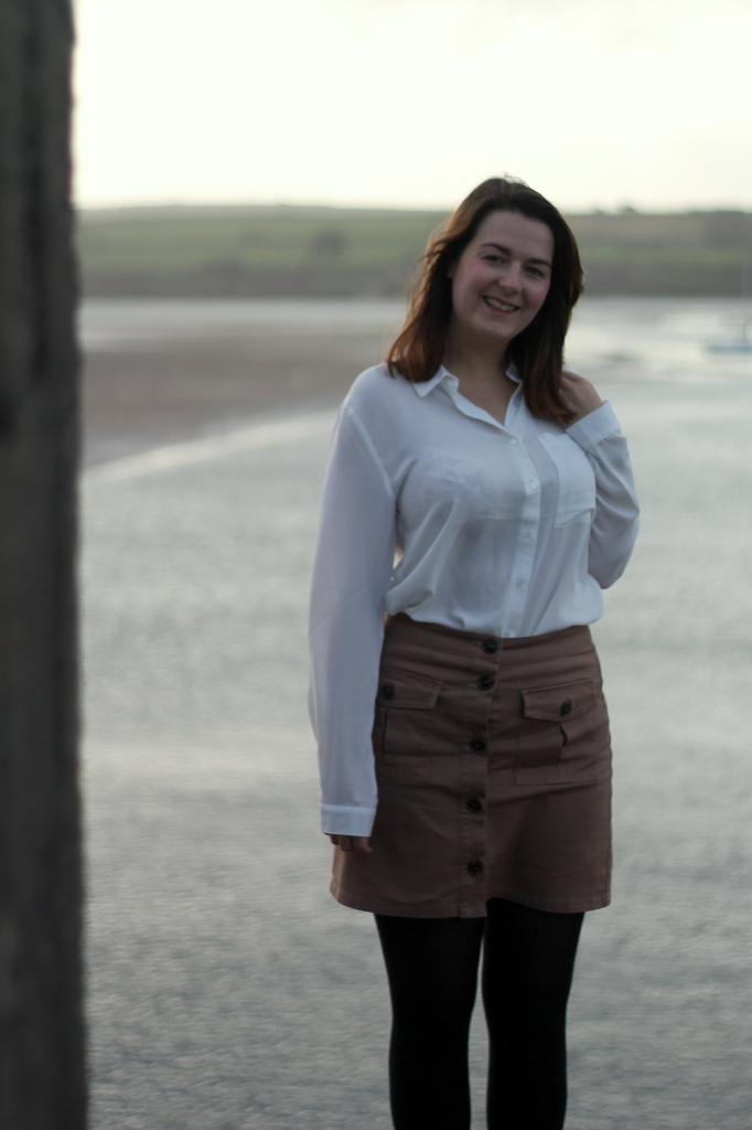 Padstow outfit - blouse and skirt