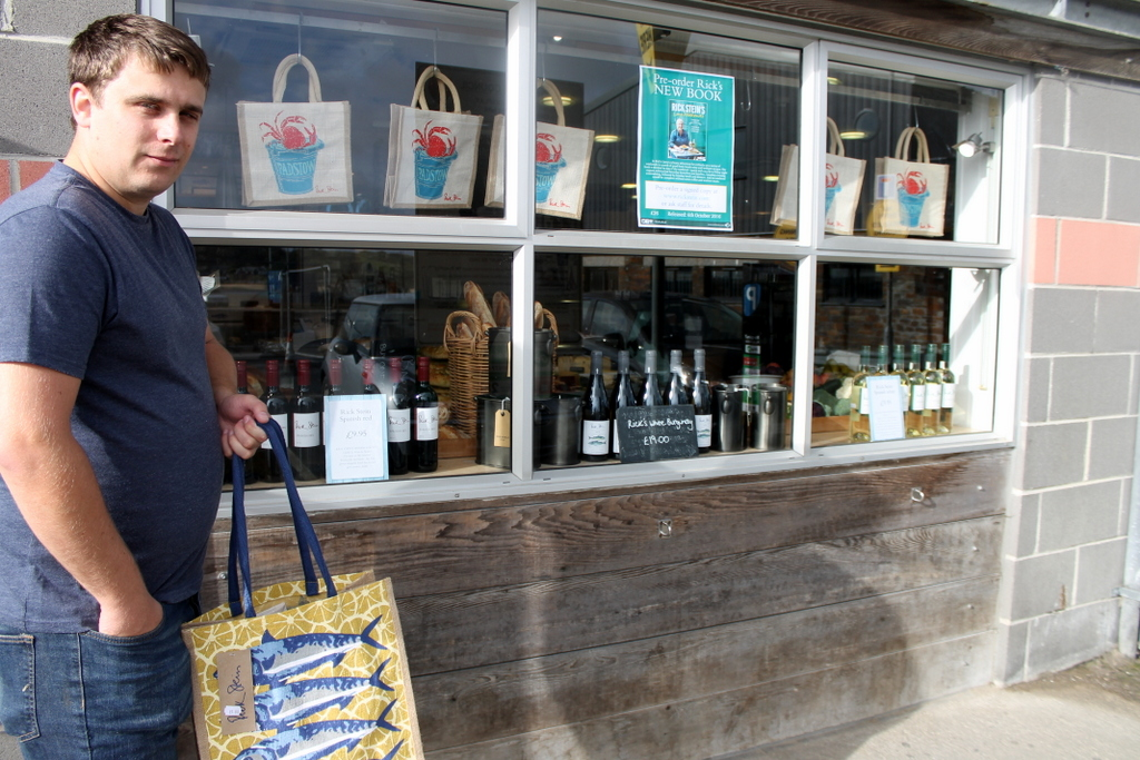 Rick Stein shop Padstow