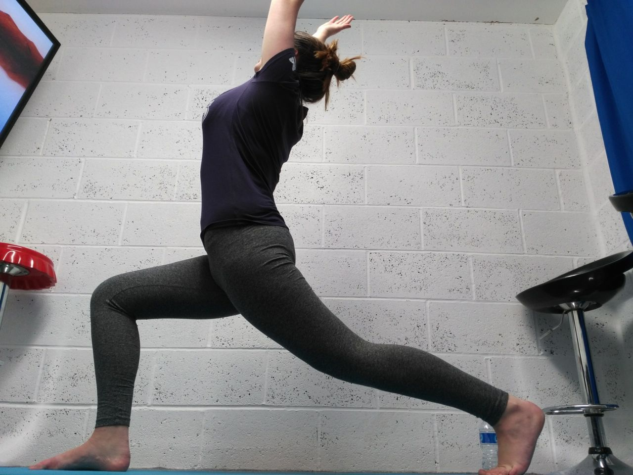Hands free yoga poses
