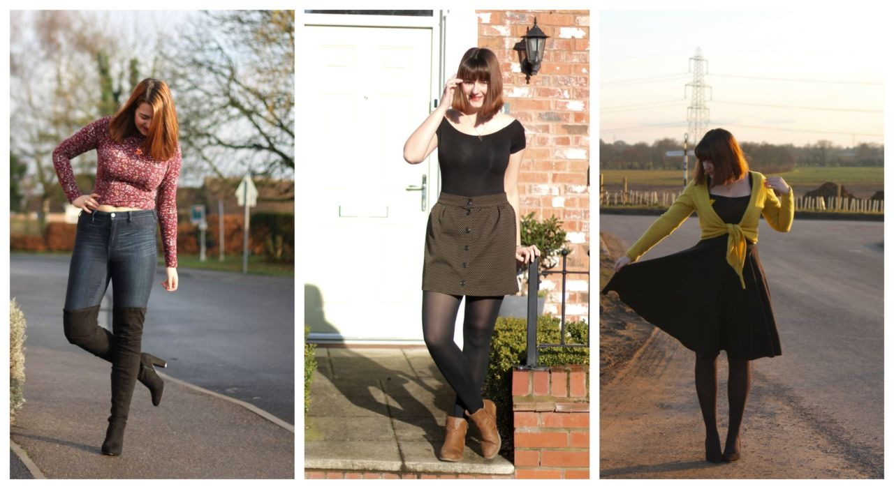 January February March Outfits