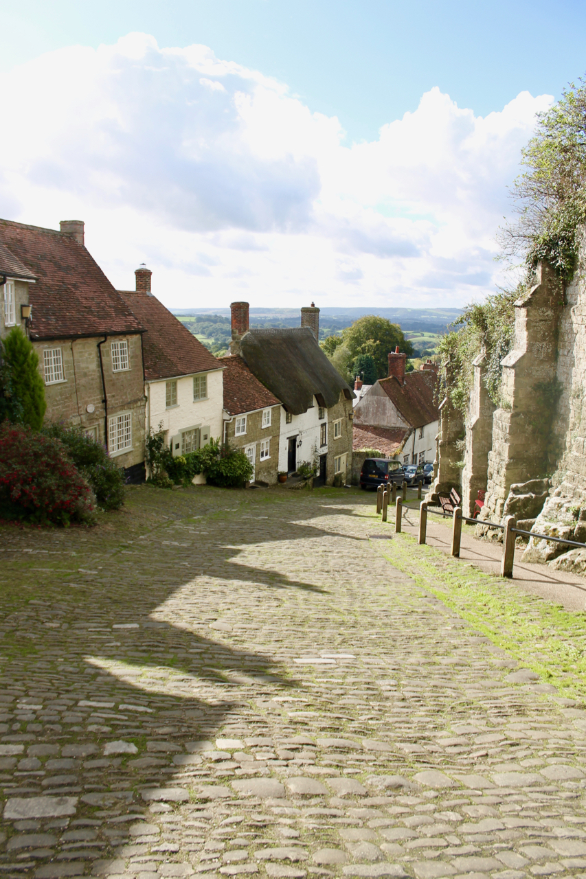 Gold Hill, Shaftesbury - UK road trip