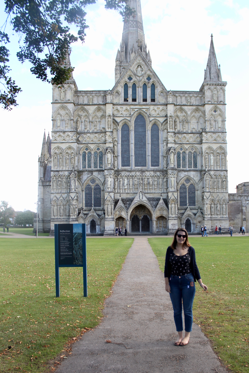 Salisbury Cathedral UK Road Trip