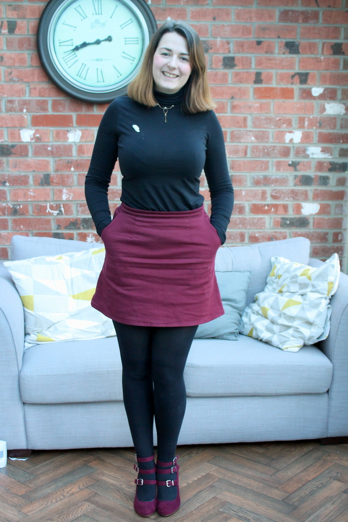 January Style Challenge - ASOS skirt, Lidl top, Dorothy Perkins shoes