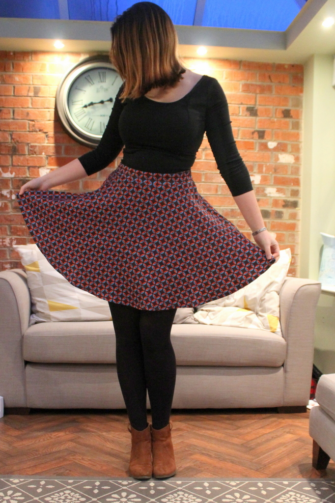 Collectif Bright & Beautiful Skirt outfit