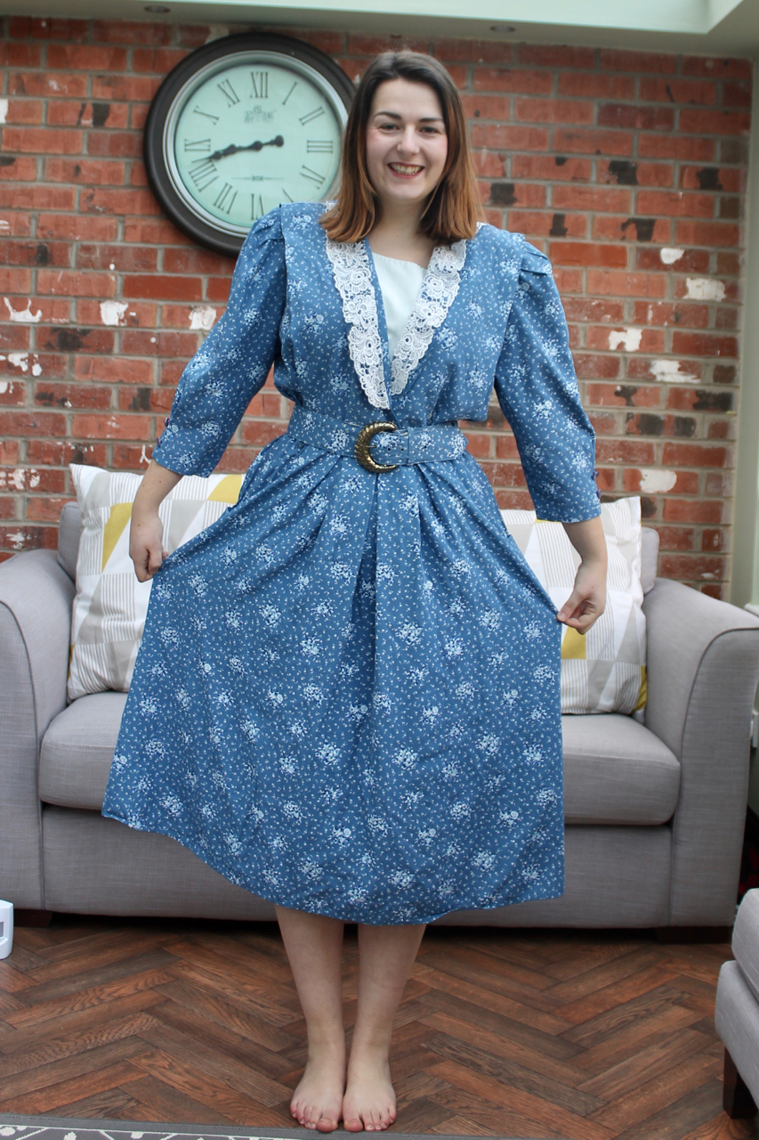 Ugly Vintage dress transformation