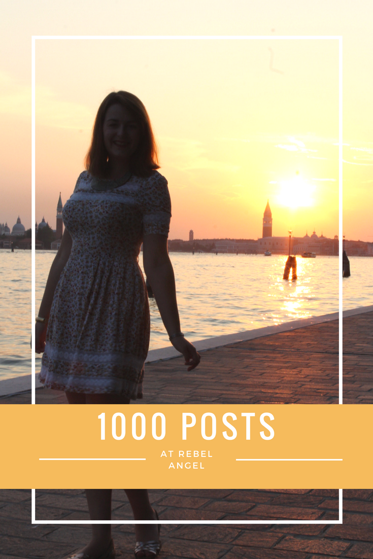 1000 Posts at Rebel Angel
