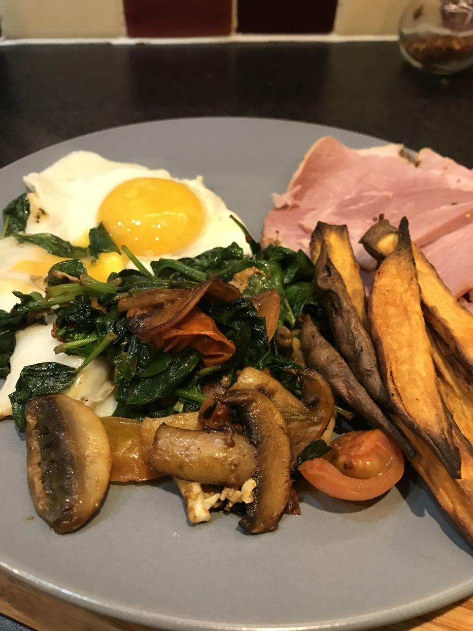 Greens, Eggs & Ham - Lean in 15