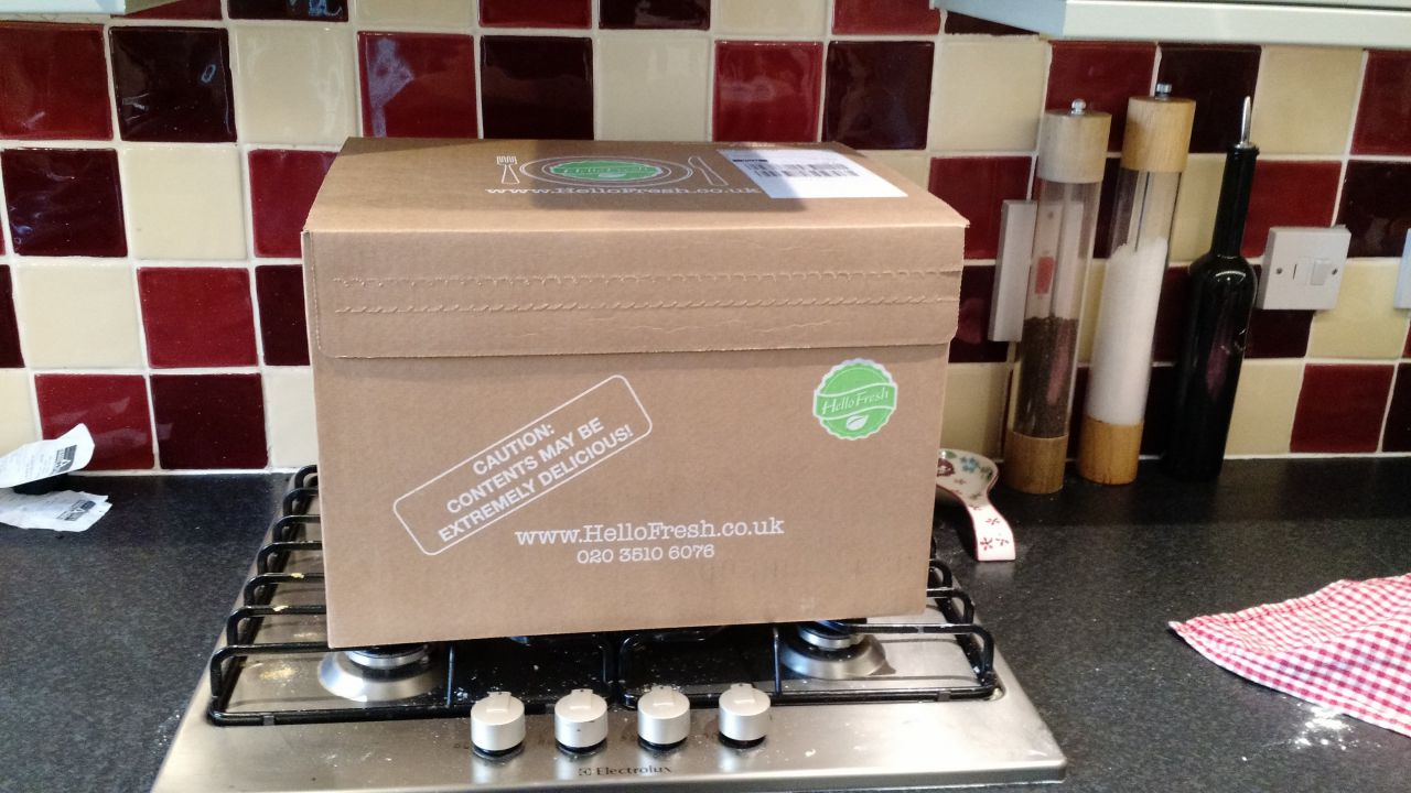 Hellofresh Subscription Box review
