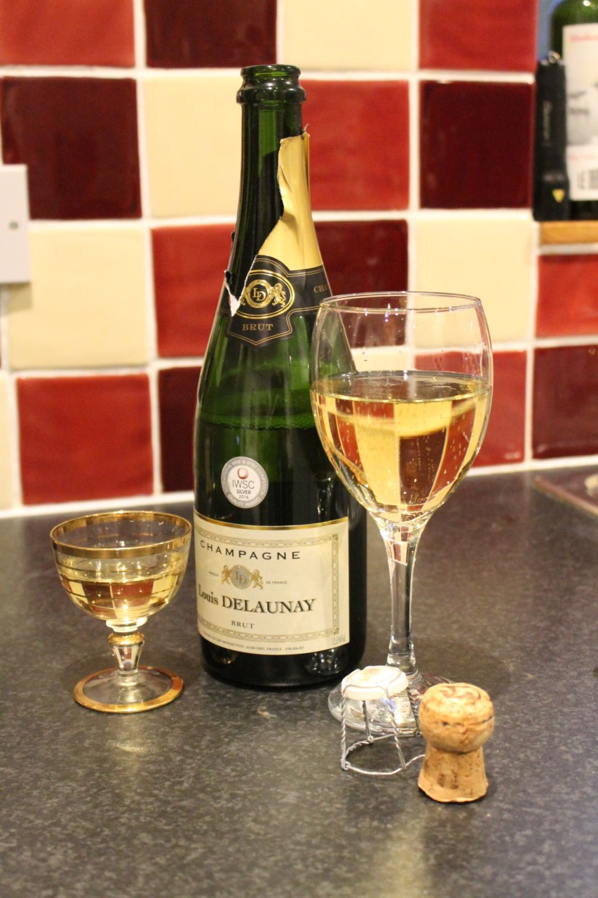 Tesco Valentine's Meal Deal review - Champagne