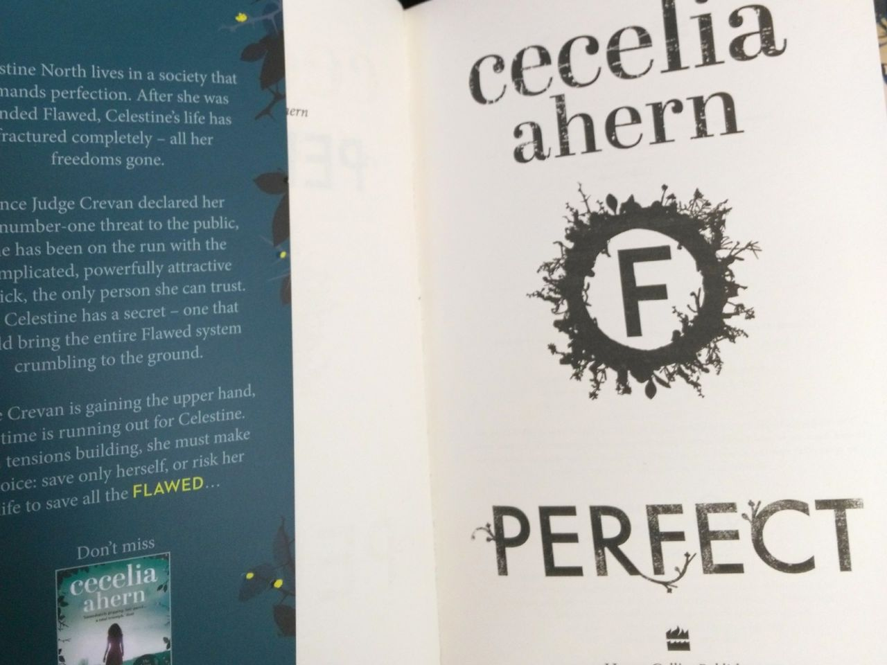 cecelia ahern perfect