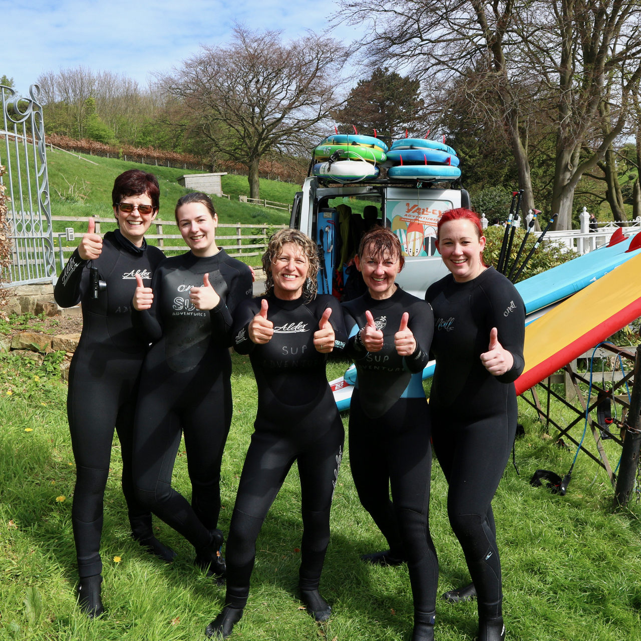 SUP Yoga retreat Raithwaite Estate