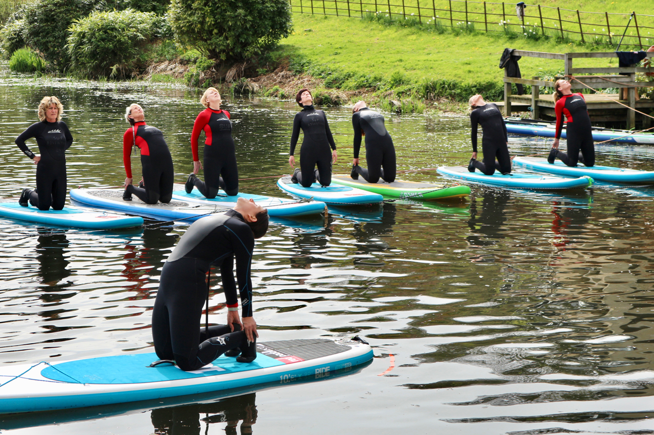 SUP Yoga - Raithwaite Estate Whitby