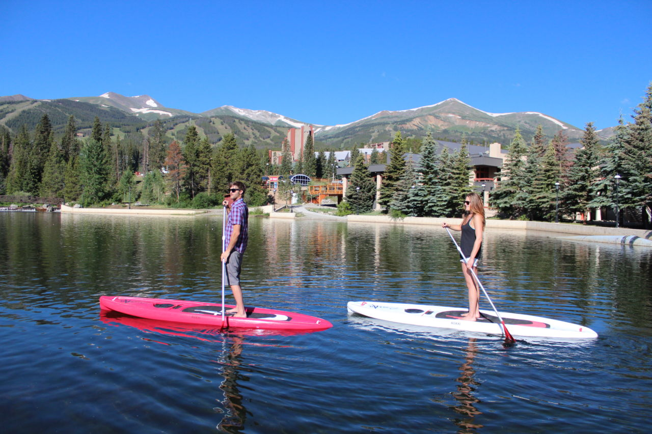 SUP in Breckenridge