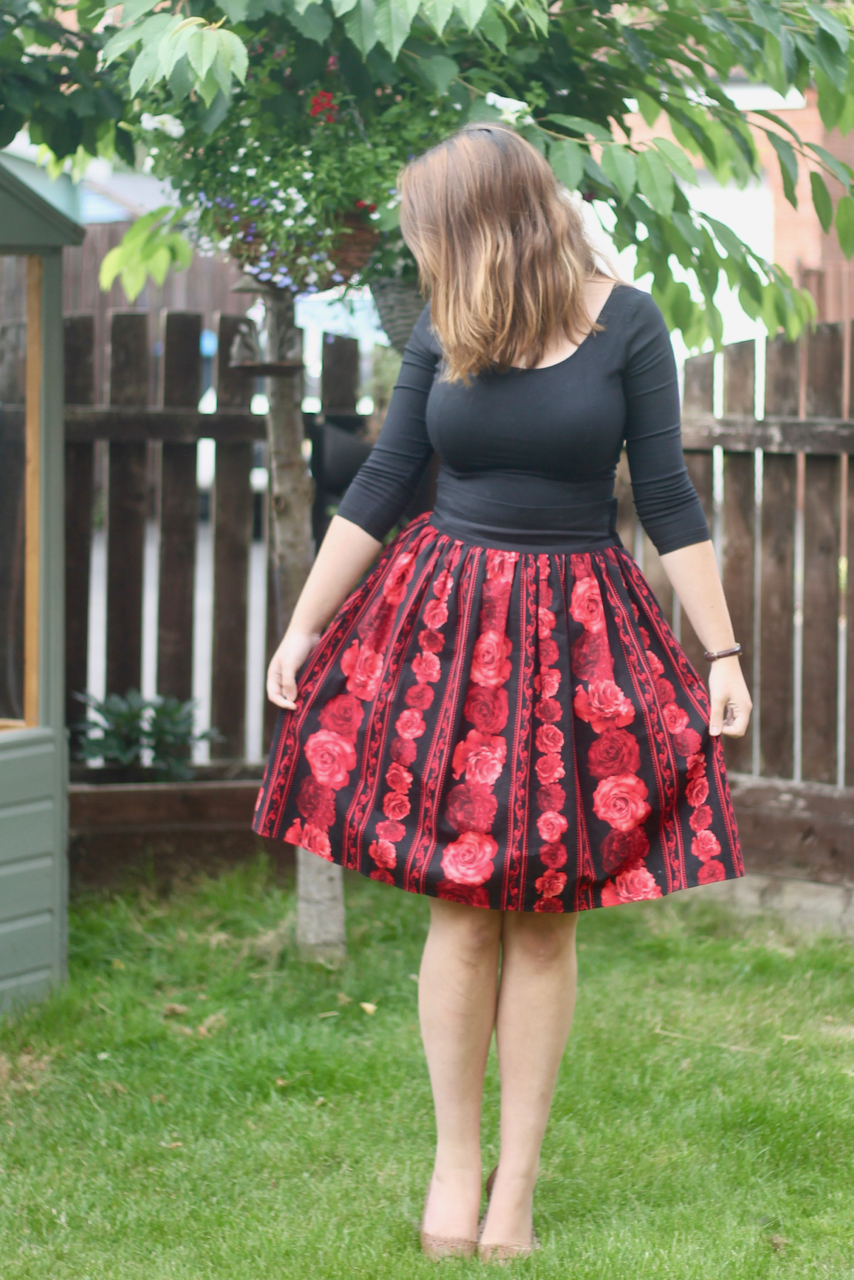 Collectif top with Heart of Haute Artisan skirt