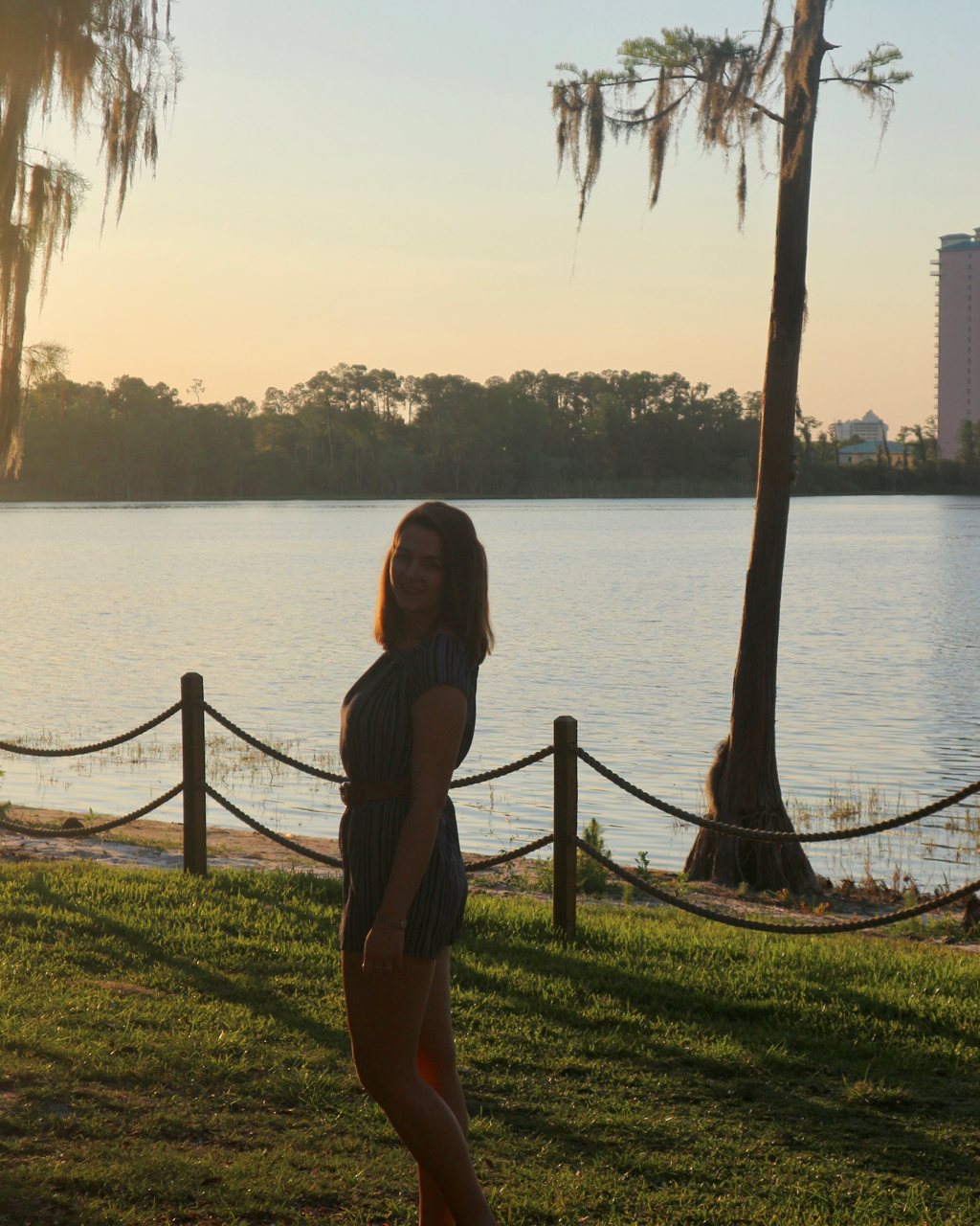 Primark playsuit outfit in Florida