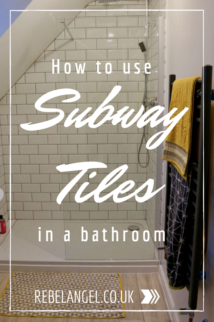 How to use subway tiles in a bathroom